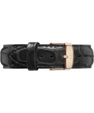 Daniel Wellington DW00200041 Classique lecture de 18mm en or rose bracelet de rechange