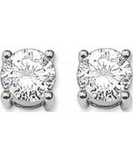 Thomas Sabo H1739-051-14 Ladies boucles d'oreille en argent avec zircon blanc