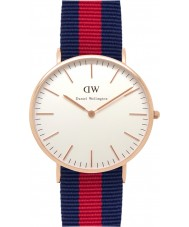 Daniel Wellington DW00100001 Mens classique 40mm oxford montre en or rose