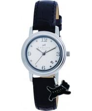 Radley RY2007 charme Mesdames cuir noir montre bracelet