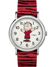 Timex TW2R41200 Montre weekender Peanuts