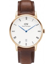 Daniel Wellington DW00100091 Dapper 34mm St Mawes montre en or rose