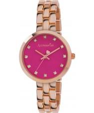 Accessorize AZ4001 couleur Mesdames pop rose montre bracelet en or