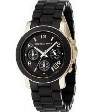 Michael Kors MK5191 Mesdames piste montre chronographe noir