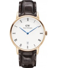 Daniel Wellington DW00100093 Dapper 34mm york montre en or rose
