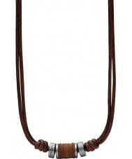 Fossil JF00899797 Collier pour hommes