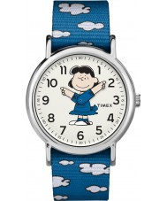 Timex TW2R41300 Montre weekender Peanuts