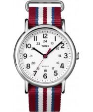 Timex T2N746 Trois tons weekender glisser à travers la montre
