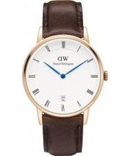 Daniel Wellington DW00100094 34mm Dapper bristol rose montre en or