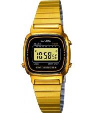 Casio LA670WEGA-1EF plaqué or Collection montre numérique