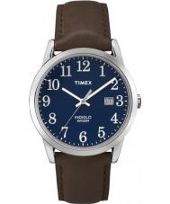 Timex TW2P75900 Mens lecteur facile bleu montre brun