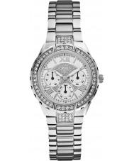 Guess W0111L1 viva Ladies acier argenté montre bracelet