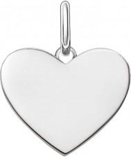 Thomas Sabo LBPE0002-001-12 Mesdames amour pont 925 pendentif en argent sterling
