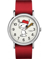 Timex TW2R41400 Montre weekender Peanuts