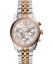 Michael Kors MK5735 Mesdames lexington deux tons montre chronographe en acier