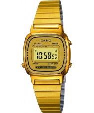 Casio LA670WEGA-9EF Montre plaqué or Collection
