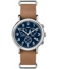 Timex TW2P62300 Weekender brun bracelet de montre chronographe