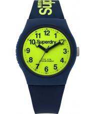 Superdry SYG164UN marine urbaine montre bracelet en silicone