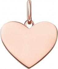 Thomas Sabo LBPE0002-415-12 Mesdames aiment pont 18ct plaqué or rose Pendentif