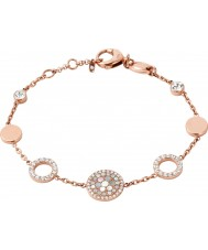 Fossil JF01739791 Mesdames paillettes vintage rose bracelet en acier or