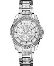 Guess W0286L1 Mesdames intrépide 2 argent de la montre bracelet en acier