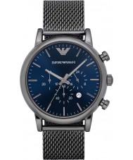 Emporio Armani AR1979 Mens gunmetal classique montre chronographe