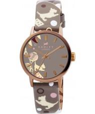 Radley RY2068 Mesdames cirque marsupial montre bracelet en cuir d'impression