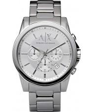 Armani Exchange AX2058 argent chronographe en acier montre habillée pour homme