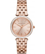 Michael Kors MK3366 darci Ladies rose montre plaqué or