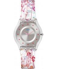 Swatch SFE102 la peau des dames - montre jardin d'fleuri