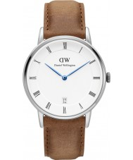 Daniel Wellington DW00100114 34mm Dapper montre durham d'argent