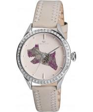 Radley RY2083 crème pour dames en cuir véritable montre bracelet avec des pierres