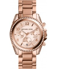 Michael Kors MK5263 Mesdames blair rose montre chronographe en or