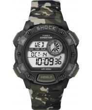 Timex T49976 Mens camo expédition montre choc de base de chronographe