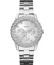 Guess W0335L1 Mesdames Dazzler montre bracelet en acier d'argent