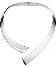 Calvin Klein KJ3UMJ000100 Mesdames au-delà de collier étrangleur en acier argent