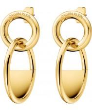 Calvin Klein KJ8GJE100100 Boucles d'oreilles fermées par des dames