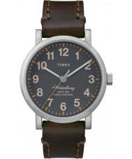 Timex TW2P58700 Mens waterbury cuir marron montre bracelet waterbury