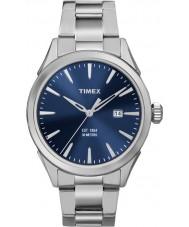 Timex TW2P96800 de Mens argent montre bracelet en acier