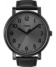 Timex T2N346 Tout en noir montre ronde classique