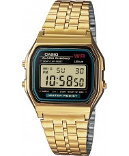 Casio A159WGEA-1EF Collection montre plaqué or classique