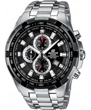 Casio EF-539D-1AVEF Mens édifice noir argent montre chronographe