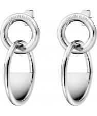 Calvin Klein KJ8GME000100 Boucles d'oreilles fermées par des dames