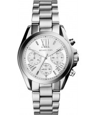 Michael Kors MK6174 Mesdames mini-bradshaw montre chronographe en argent