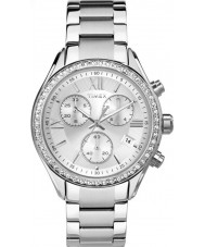 Timex TW2P66800 acier argenté Mesdames ville montre bracelet
