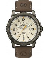 Timex T49990 Mens expédition brune montre sur le terrain accidenté