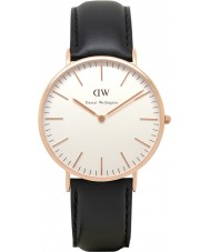 Daniel Wellington DW00100007 Mens classique sheffield 40mm montre en or rose