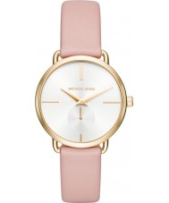 Michael Kors MK2659 portia Ladies cuir rose montre bracelet