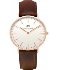Daniel Wellington DW00100009 Mens classique 40mm bristol montre en or rose