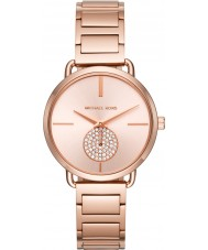 Michael Kors MK3640 portia Ladies or rose plaqué montre bracelet